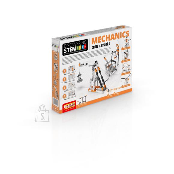 Engino konstruktor Discovering Stem Mehaanika: Võllid