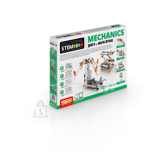 Engino konstruktor Discovering Stem Mehaanika: Masinad