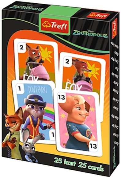 Trefl kaardimäng Zootoopia