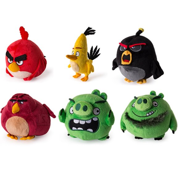 Angry Birds Spin Master PEHME ANGRY BIRDS