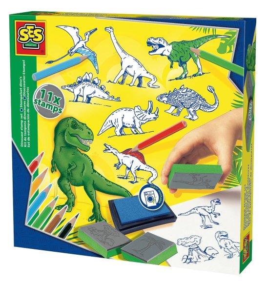 Ses templite komplekt Dinosaurused