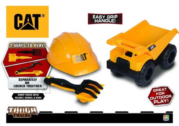 Toy State CAT sõiduk koos kiivriga