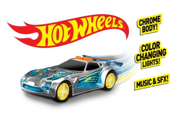 helendav sõiduk Toy State Hot Wheels