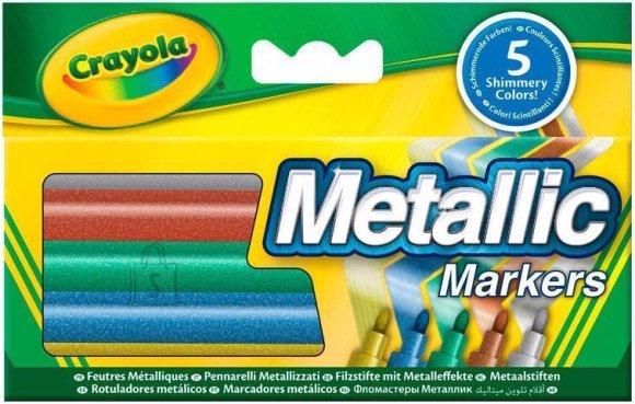Crayola 5 metallikvärvi markerit