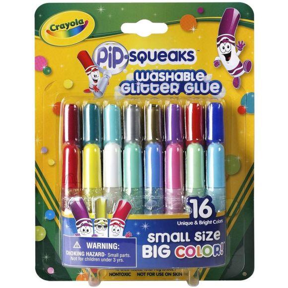 Crayola 16 sädelevat liimipliiatsit