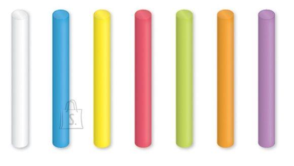 Crayola tolmuvabad värvilised kriidid 12tk