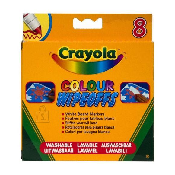Crayola 8 valge tahvli markerit