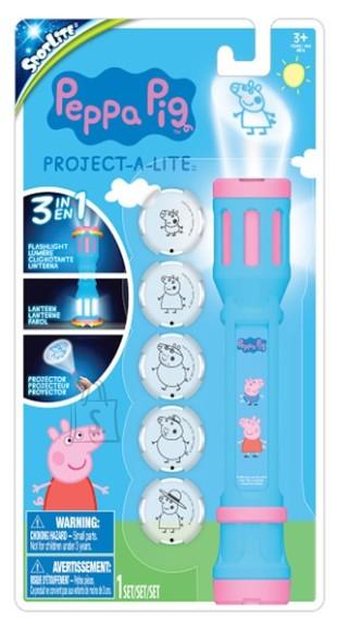 Taskulamp-projektor Peppa Pig