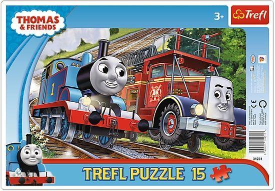 Trefl raamis pusle Thomas ja Flinn 15 tk
