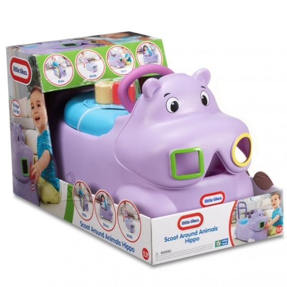 Little Tikes pealeistutav auto Hippo