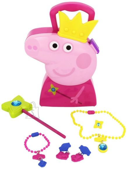 Peppa Pig printsessiehete komplekt kohvriga