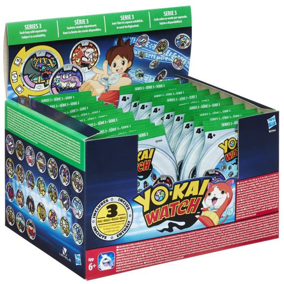Hasbro Yo-Kai medalid 3tk