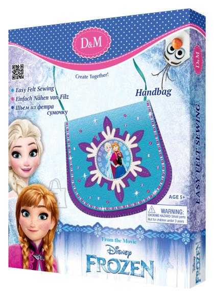 Frozen õlakoti valmistamise komplekt Elsa & Anna