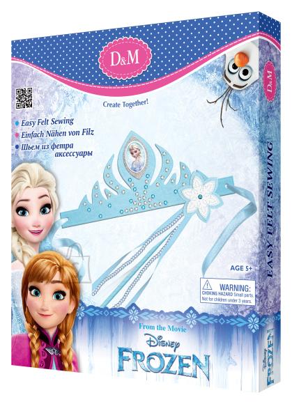 Frozen tiaara ja võlukepi valmistamise komplekt