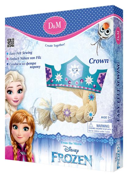 Frozen krooni kaunistamise komplekt