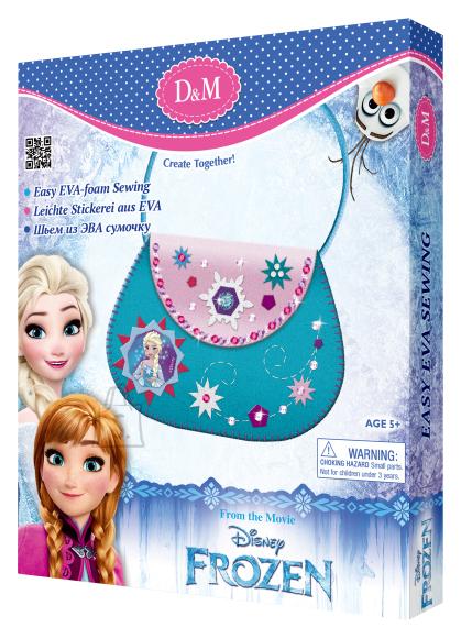 Frozen õlakoti valmistamise komplekt Elsa