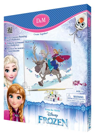 Frozen lõuend pildiga 25 x 30 cm