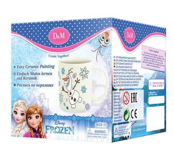 Frozen värvitav tass Olaf