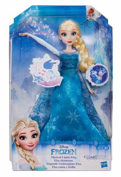 Frozen muusika ja valgusega nukk Elsa