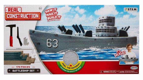 Real Constructions sõjalaeva komplekt 170 osa