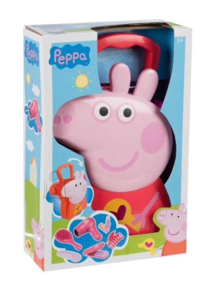 Peppa Pig juuksurikomplekt kohvriga
