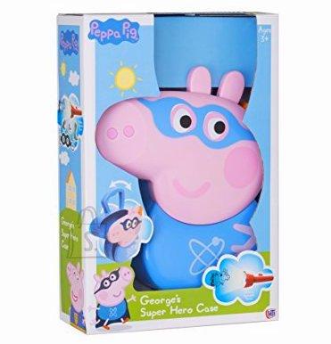 Peppa Pig George superkangelase komplekt kohvriga