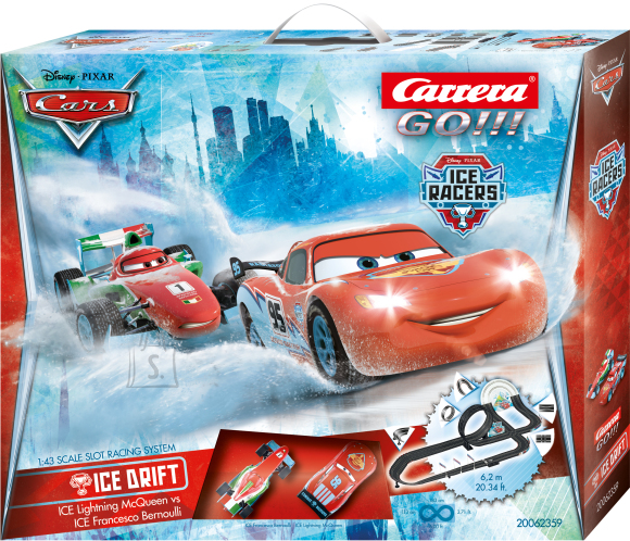 Carrera autorada Disney Cars Ice racers