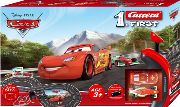 Carrera autorada Disney Cars