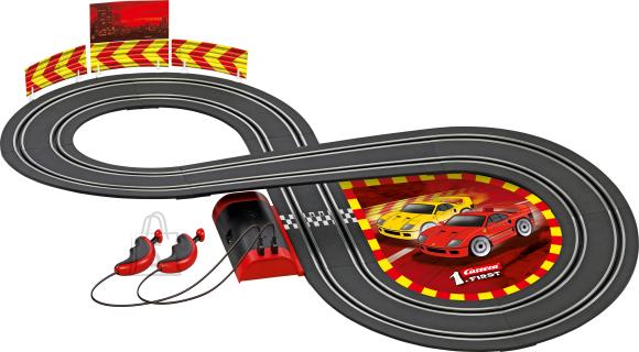 Carrera autorada Disney Ferrari