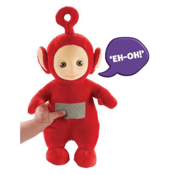 Teletups, naerev ja rääkiv pehme mänguasi, 25cm