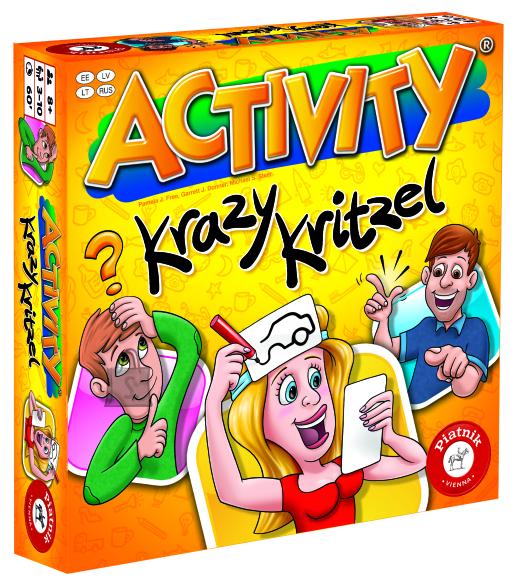 Piatnik lauamäng Activity Krazy Kritzel EST/LV/LT/RUS