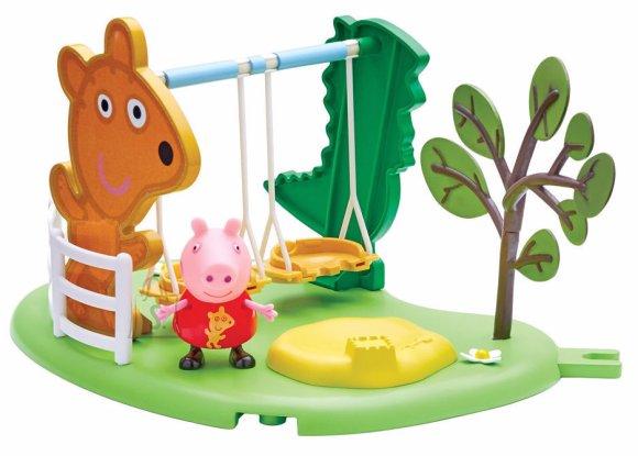Peppa Pig mängukomplekt kiigeplats