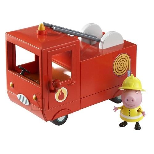 Peppa Pig tuletõrjeauto ja Põrsas Peppa