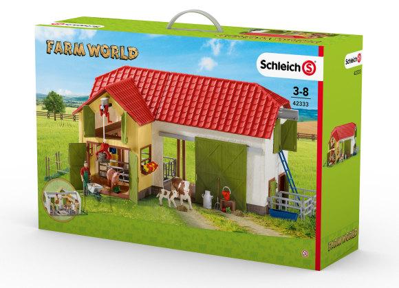 Schleich Mängukomplekt Farm World loomafarm
