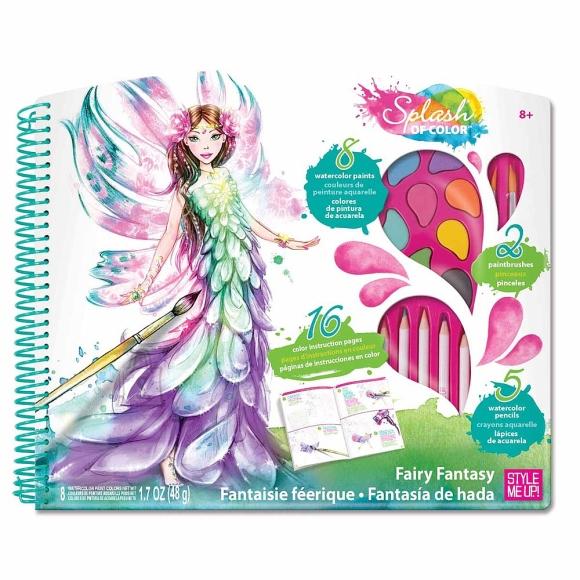 """Wooky """"Fairy"""" värvimise komplekt"""
