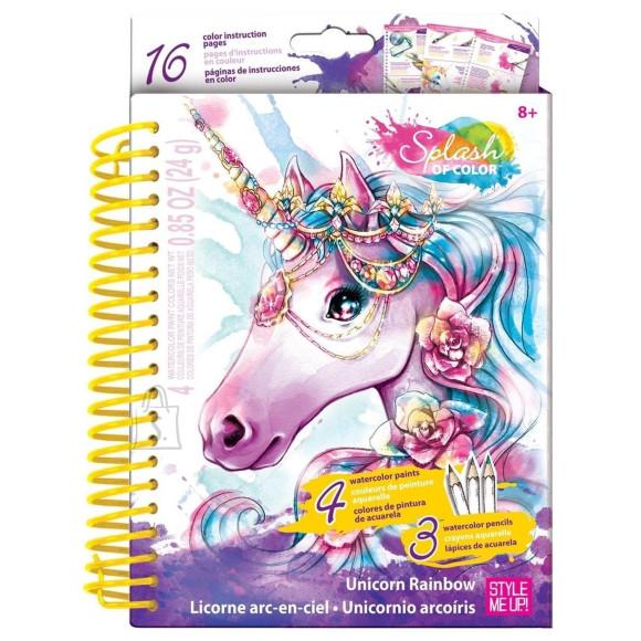 """Wooky """"Unicorn Rainbow"""" värvimise komplekt"""