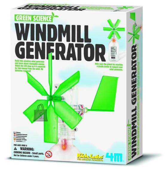 """4M mängukomplekt """"Tuulegeneraator"""""""