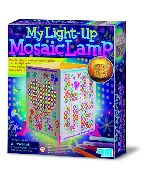 4M mosaiiklambi valmistamise komplekt