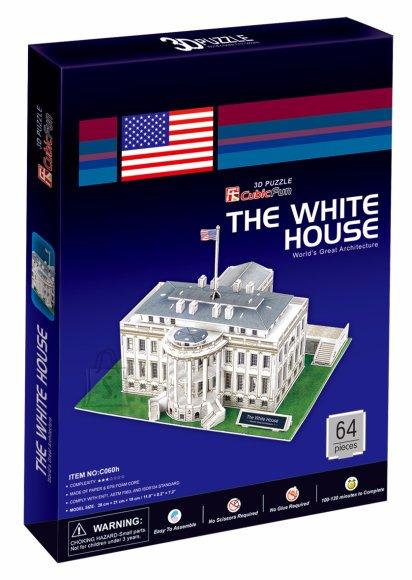 CubicFun 3D pusle The White House