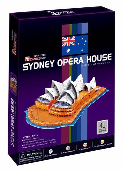 CubicFun 3D pusle Sydney Opera House