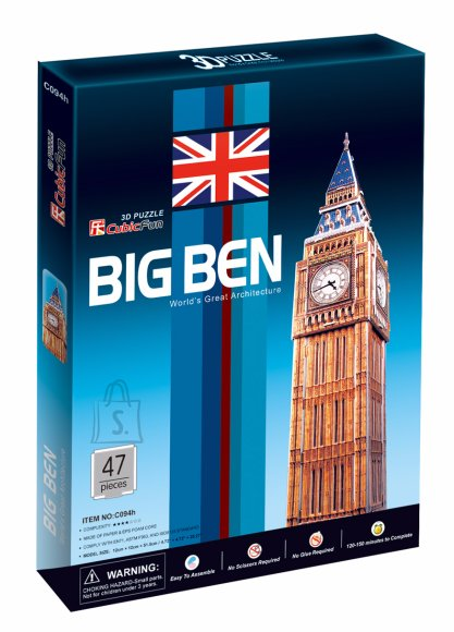 CubicFun 3D pusle Big Ben