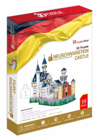 CubicFun 3D pusle Neuschwanstein Castle