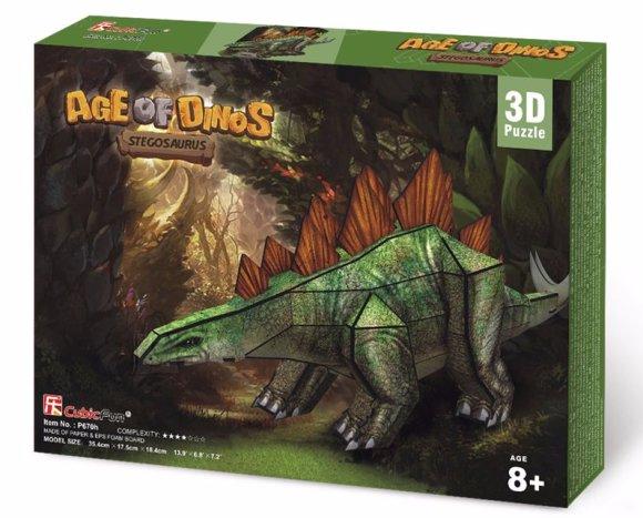 CubicFun 3D pusle Stegosaurus