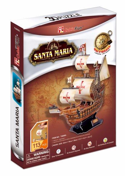 CubicFun 3D pusle Santa Maria