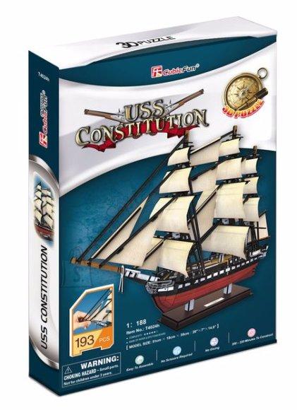 CubicFun 3D pusle USS Constitution
