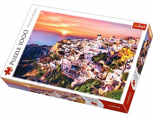 Trefl pusle Päikeseloojang Santorinil 1000 tk
