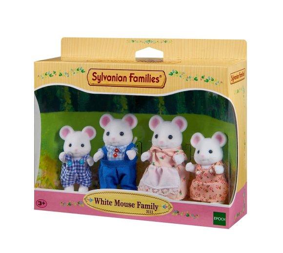f24cd932ab6 Sylvanian Families mänguloom valge hiire pere