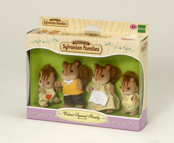 286125f939d Sylvanian Families mänguloom pähkliorava pere