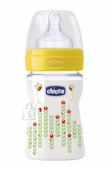 Chicco lutipudel Well Being 150 ml, kollane