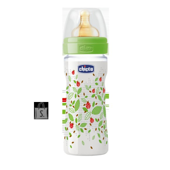 Chicco Well Being roheline lutipudel 250 ml